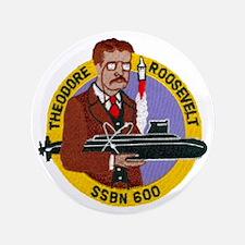 "USS THEODORE ROOSEVELT 3.5"" Button (100 pack)"