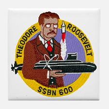 USS THEODORE ROOSEVELT Tile Coaster