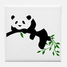 Resting Panda Tile Coaster