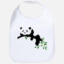 Resting Panda Bib