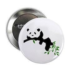 "Resting Panda 2.25"" Button"