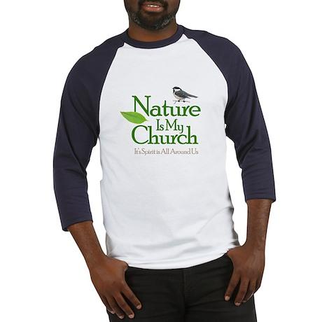 nature_color copy Baseball Jersey