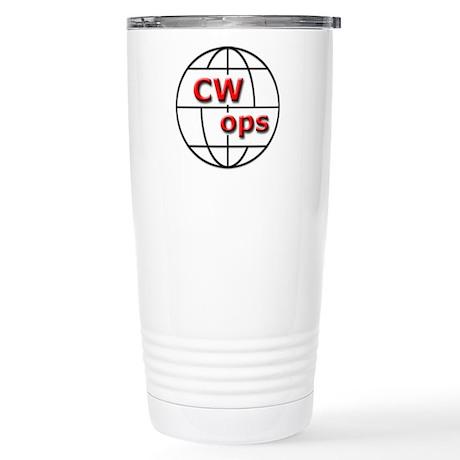 CWops Stainless Steel Travel Mug