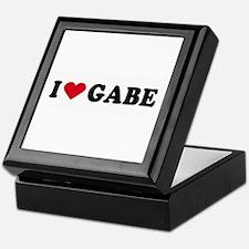 I LOVE GABE ~ Keepsake Box
