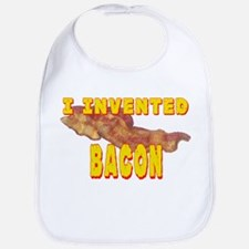 I Invented Bacon Bib