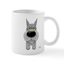 Schnauzer Valentine Mug