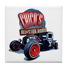 Chicos All Star Rods Tile Coaster