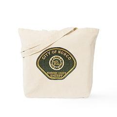 Norco California Police Tote Bag
