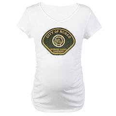 Norco California Police Maternity T-Shirt