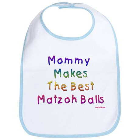 Matzah Balls Passover Bib
