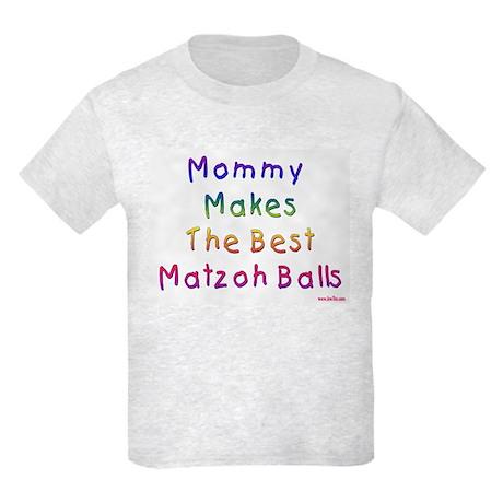 Matzah Balls Passover Kids Light T-Shirt