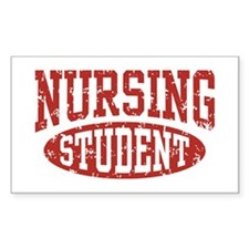 Nursing Student Rectangle Decal