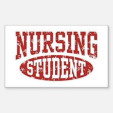 Nursing Student Rectangle Decal