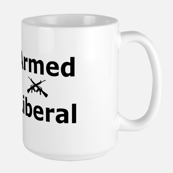 Armed Liberal Large Mug