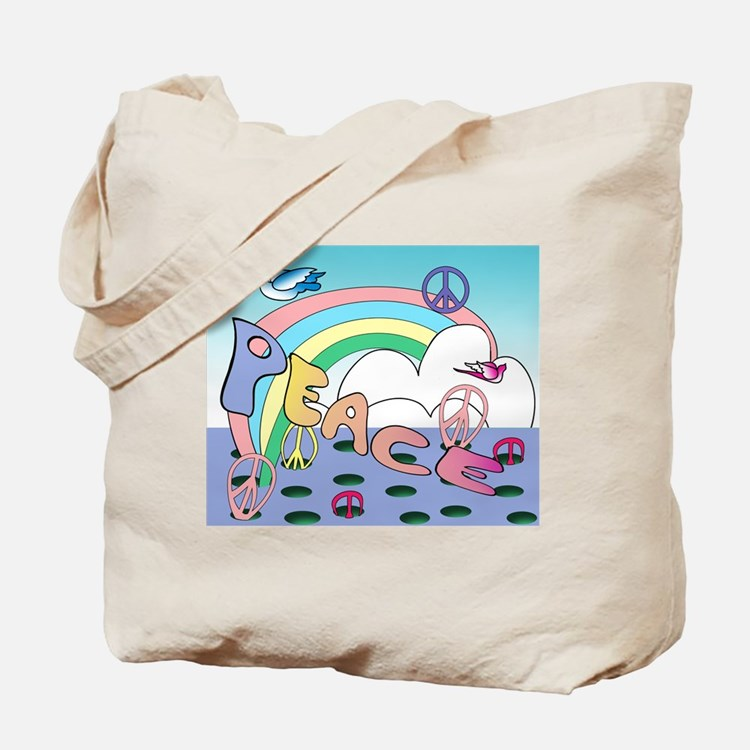 'Max'imum Peace Tote Bag
