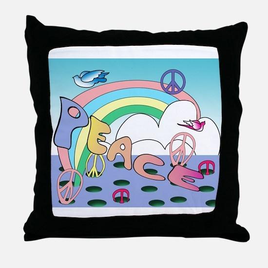 'Max'imum Peace Throw Pillow