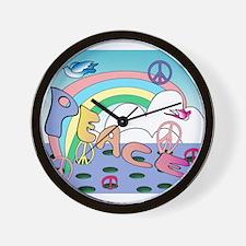 'Max'imum Peace Wall Clock