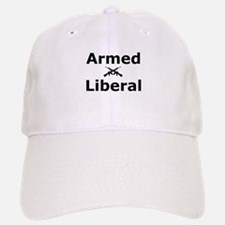 Armed Liberal Baseball Baseball Cap