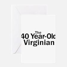 Cute Virginia tech hokies Greeting Card