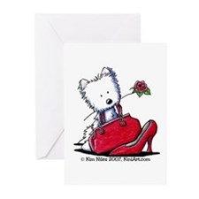 Westie Pcs Of Heaven Greeting Cards (Pk of 10)