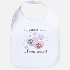 Happiness is...a Pomeranian Bib