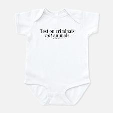 Criminal Behavior Infant Bodysuit