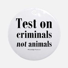 Criminal Behavior Ornament (Round)