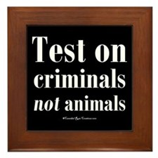 Criminal Behavior Framed Tile 2