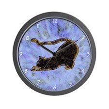 Shadow Cat Wall Clock