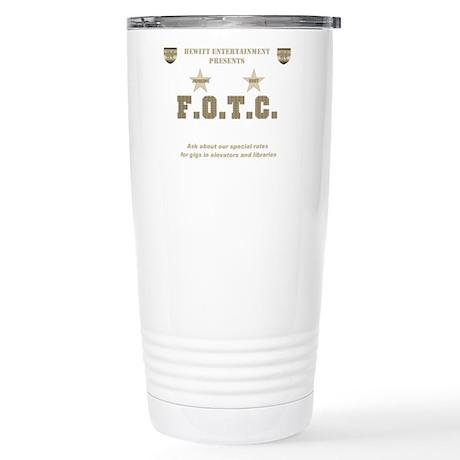 F.O.T.C. Stainless Steel Travel Mug