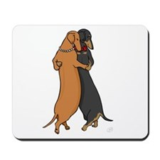 Dancing Dachshunds Mousepad