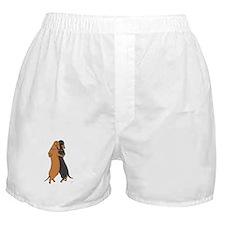 Dancing Dachshunds Boxer Shorts