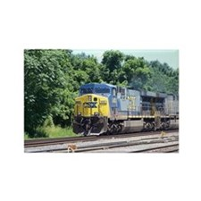 CSX Q190 Doublestack Train Rectangle Magnet