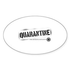 Quarantine - Dharma Initiative Oval Decal