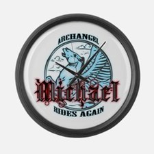 Archangel Michael Large Wall Clock
