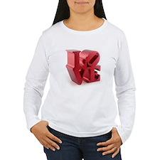 Retro Style LOVE T-Shirt