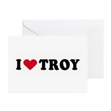 I LOVE BOYS ~ Greeting Cards (Pk of 10)