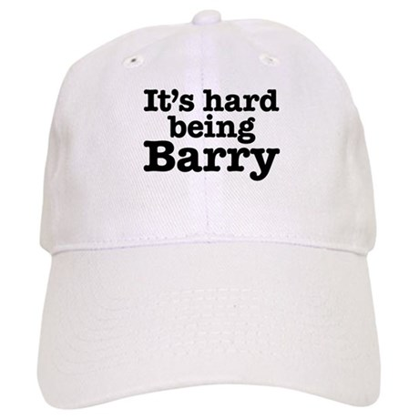 It's hard being Barry Cap