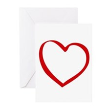 Open Heart - Greeting Cards (Pk of 20)