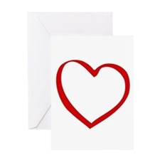 Open Heart - Greeting Card