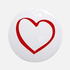Open Heart - Ornament (Round)