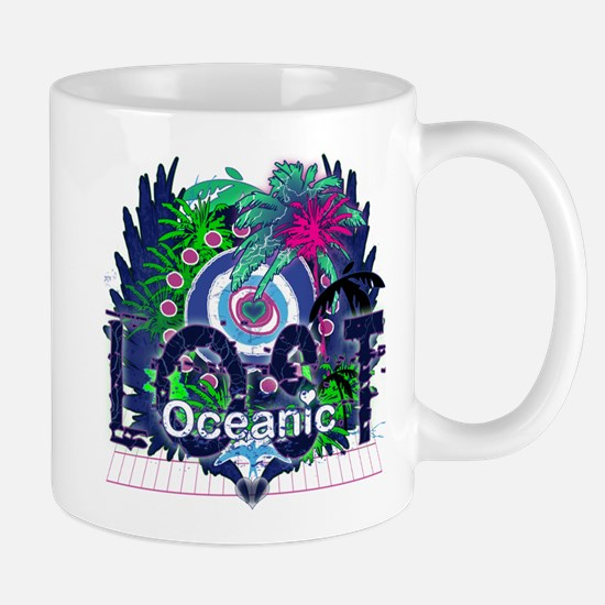 Lost Oceanic Heart Wings Mug