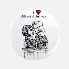 """Love G&S 3.5"""" Button"""