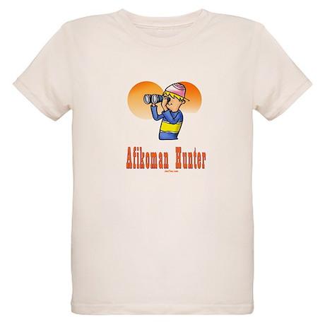 Afikoman Hunter Passover Organic Kids T-Shirt