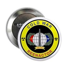 """COLD WAR REENACTOR 2.25"""" Button (10 pack)"""