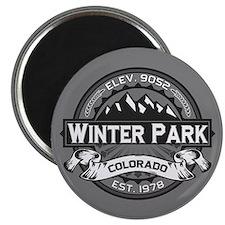 Winter Park Grey Magnet