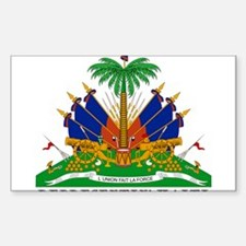 Haiti Rectangle Decal