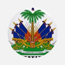 Haiti Ornament (Round)