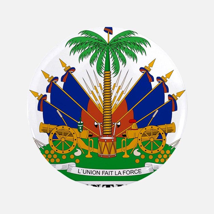 """Haiti 3.5"""" Button (100 pack)"""