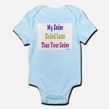 My Passover Seder Ended Late Infant Bodysuit